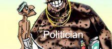 आजकल राजनीति  मतलब गुंडानीती