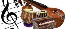 गीत ,वाद्य और नृत्य से मिलकर बनता है संगीत