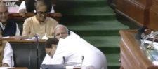 राहुल गांधी नै जादू की झप्पी दे थाम दिया भूकंप